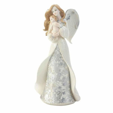 Angel Cradling Baby Figurine Christmas Catalog
