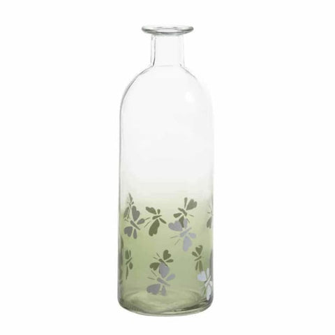 Apothecary Style Glass Bottle - Medium Living Room > Tabletop Decor
