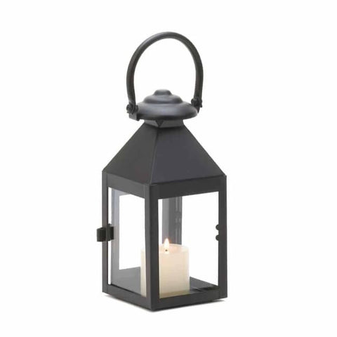 Black Revere Medium Candle Lantern Candle Lantern