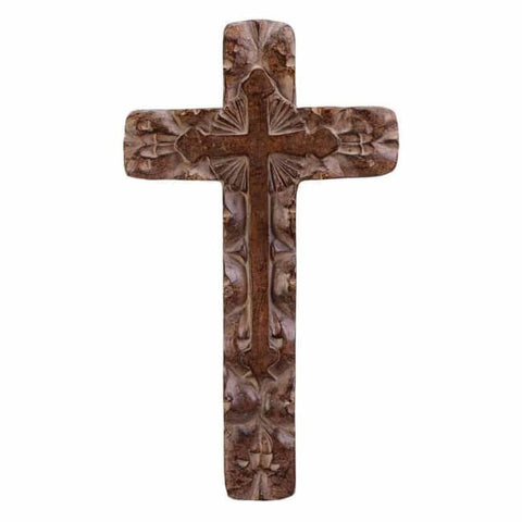 Classic Rustic Wall Cross Religious And Inspiration