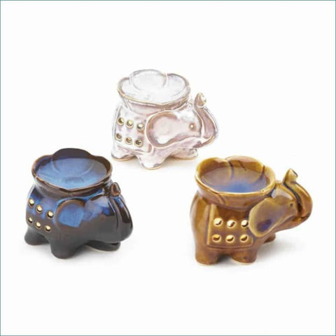 Elephant Oil Warmer Trio Home Fragrances