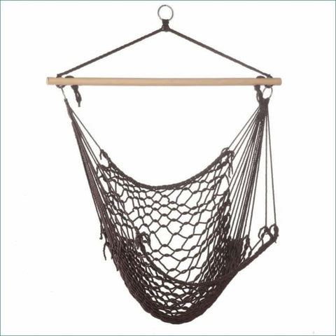 Espresso Hammock Chair Outdoor > Outdoor Furniture > Hammocks