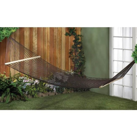 Espresso Two-Person Hammock Outdoor > Outdoor Furniture > Hammocks