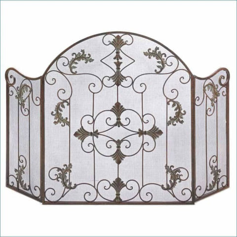 Florentine Fireplace Screen Fireplace Screen