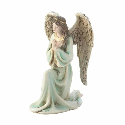 Graceful Kneeling Angel Christmas Catalog