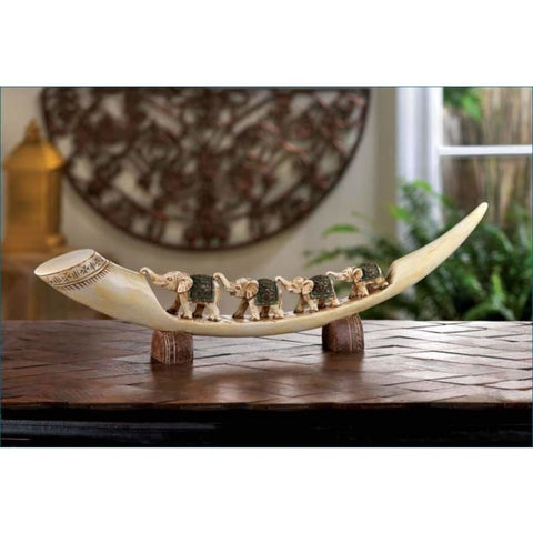 Green Elephant Tusk Living Room > Tabletop Decor