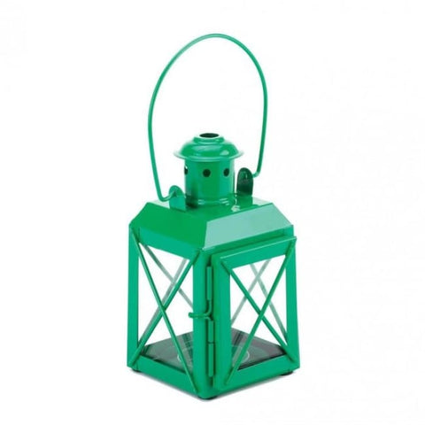 Green Railway Candle Lamp Candle Lantern