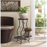 Hourglass Triple Plant Stand Outdoor > Gardening > Planters