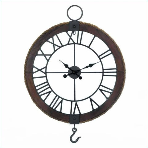 Industrial Round Wall Clock Clock