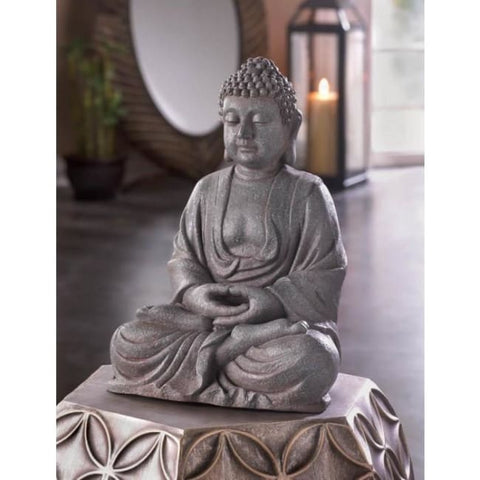 Meditating Buddha Statue Living Room > Tabletop Decor