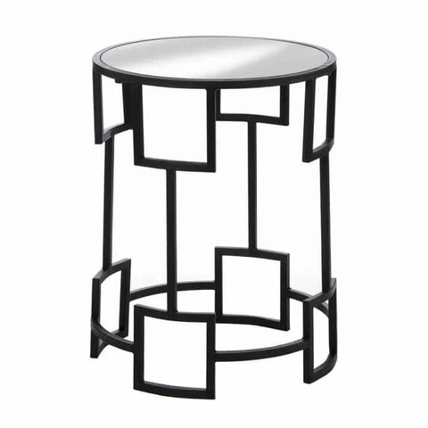 Modern Round Side Table Living Room > Console & Sofa Tables