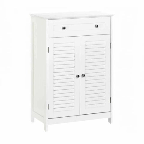 Nantucket Double Door Floor Cabinet Bathroom > Bathroom Cabinets