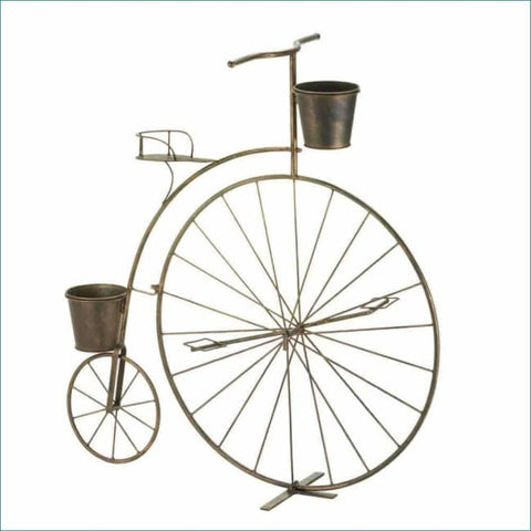 Old-Fashioned Bicycle Plant Stand Outdoor > Gardening > Planters