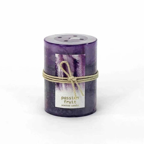 Passion Fruit Pillar Candle 3X4 Home Fragrances