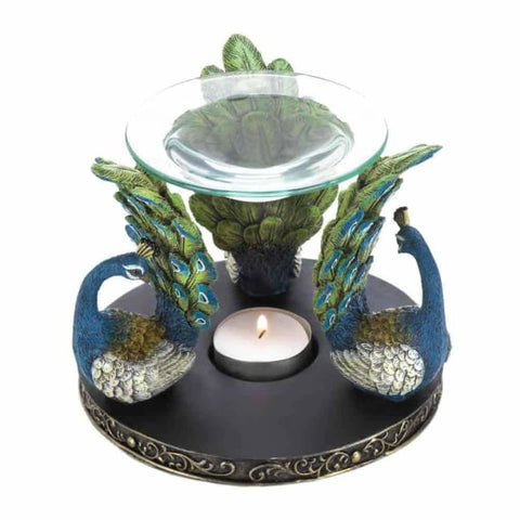 Peacock Plume Oil Warmer Home Fragrances