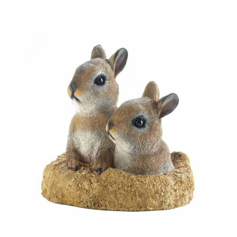 Peek-A-Boo Garden Bunnies Decor Patio; Lawn & Garden