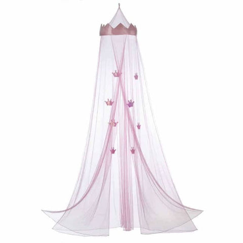 Pink Princess Bed Canopy Bed; Bath & Body