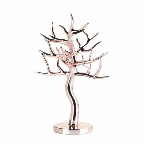 Rose Gold Jewelry Tree Jewelry Decor