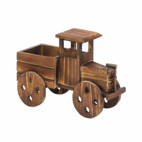 Rustic Antique Truck Planter Outdoor > Gardening > Planters