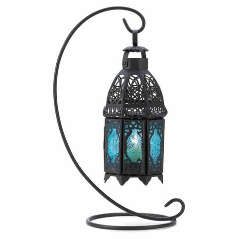 Sapphire Nights Table Lantern Candle Lantern