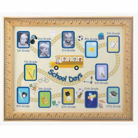School Days Photo Frame Picture Frames