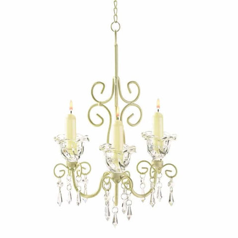 Shabby Elegance Scrollwork Chandelier Lighting