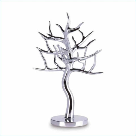Silver Jewelry Tree Jewelry Decor