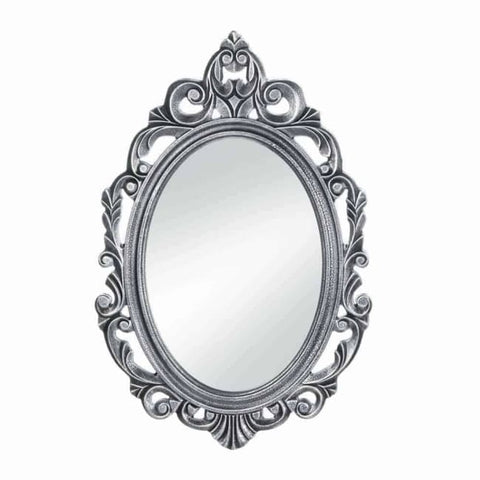 Silver Royal Crown Wall Mirror Accents > Mirrors