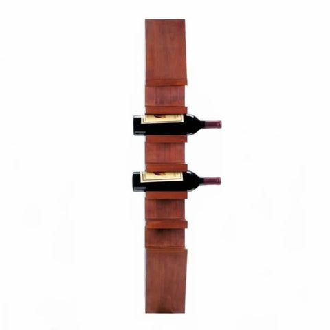 Sleek Wooden Wine Wall Rack Wine Rack