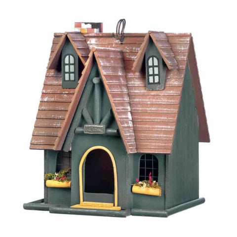 Storybook Cottage Birdhouse Birdhouse