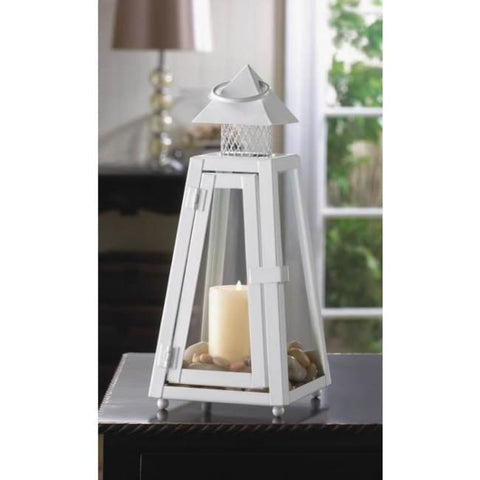 Summit White Candle Lantern Candle Lantern