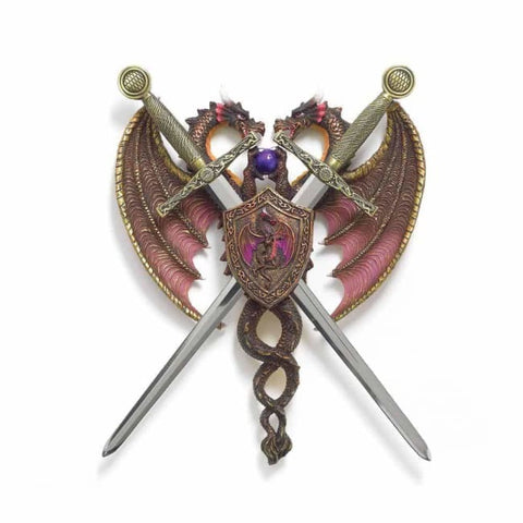 Sword And Dragon Coat-Of-Arms Myth & Legend