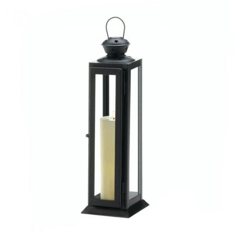 Tall Sleek And Lean Star Cutout Lantern Candle Lantern
