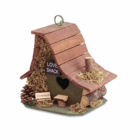 The Love Shack Birdhouse Birdhouse