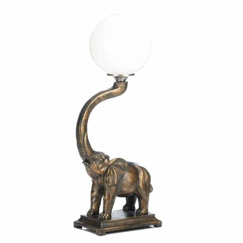 Trumpeting Elephant Lamp Lighting > Table Lamp