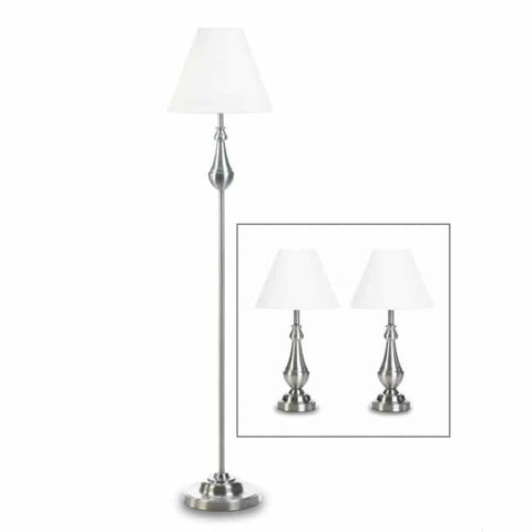 Turned High Polish Lamp Trio Lighting > Table Lamp