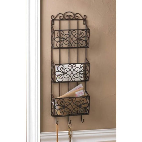 Vintage Charm Triple Wall Rack Kitchen & Dining