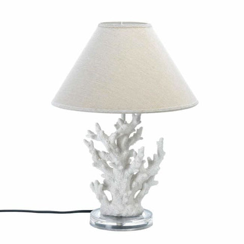 White Coral Table Lamp Lighting > Table Lamp