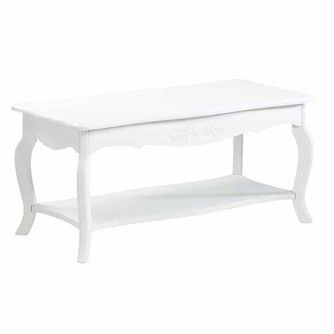 White Elegant Coffee Table Living Room > Console & Sofa Tables