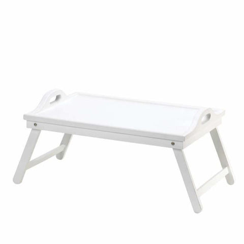 White Folding Tray Serving Tray