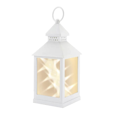 White Star Lantern Candle Lantern