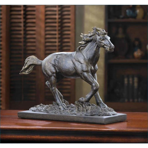 Wild Stallion Statue Living Room > Tabletop Decor