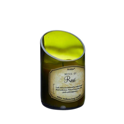 Wine Bottle Rose Scented Candle Home Fragrances