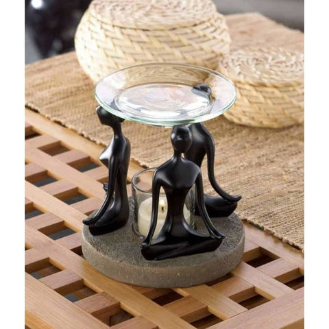 Yoga Position Oil Warmer Home Fragrances