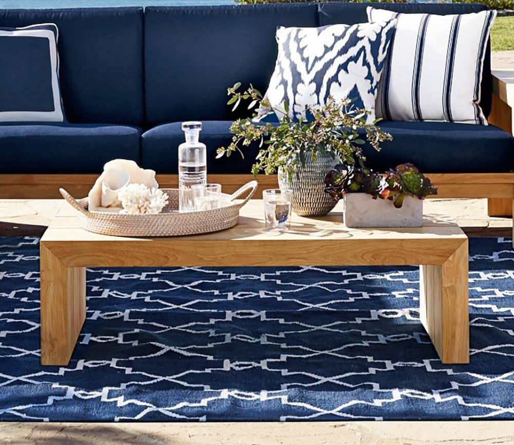 Create a new look with a durable outdoor carpet rug. Great for high traffic interior use also.