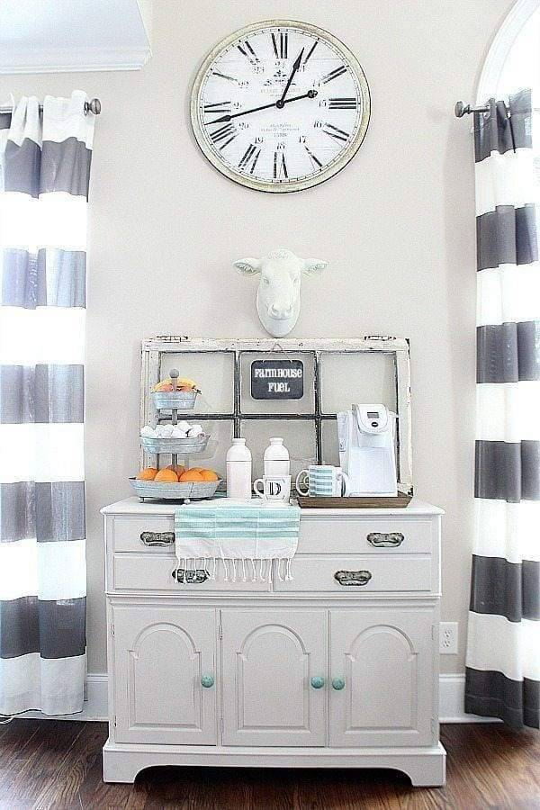 Learn about this cute coffee station and how to create one of your own.