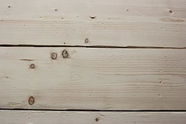 our distressed pine board ready to add the wire brush graining affect