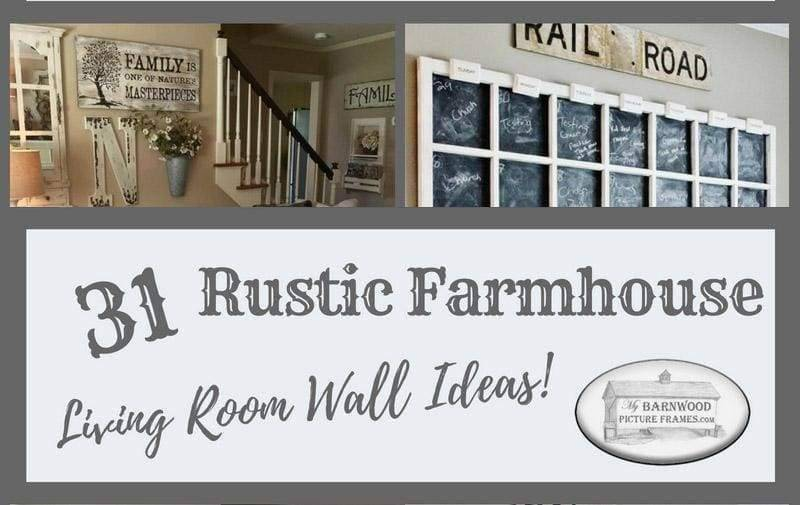 Rustic décor can be unique to each home. The arrangements we have brought together show great ways to encourage you to share your unique personality and style. If you'd like to bring a little country charm into your home, then we encourage you to try a few of our 31 rustic living room decorating ideas. Remember, country charm is a feeling you can enjoy no matter where you live.