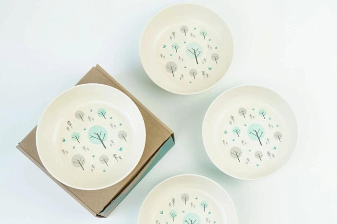 The EcoCubs Original Set of 4 Large Bowls