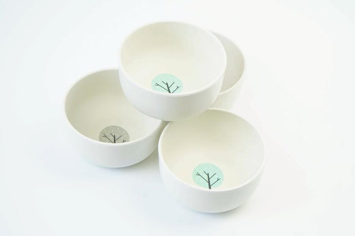 The EcoCubs Original Set of 4 Small Bowls
